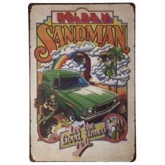 Holden Sandman Metal Sign