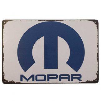 Mopar Tin Sign