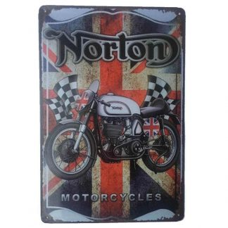Norton Motorcycles Sign
