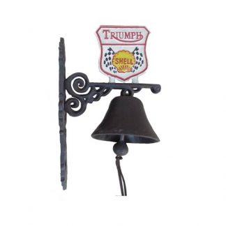 Cast Iron Triumph Bell