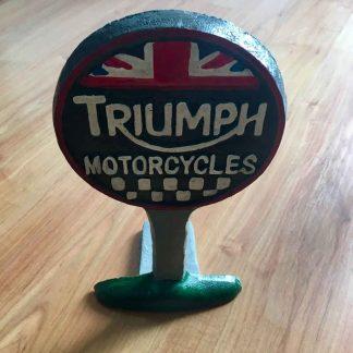 Triumph Doorstop