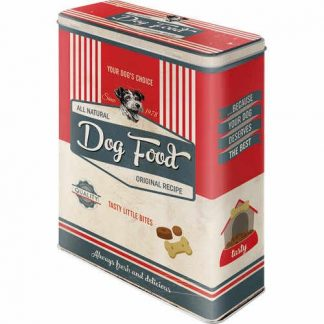 Dog Biscuits XL Embossed Storage Tin