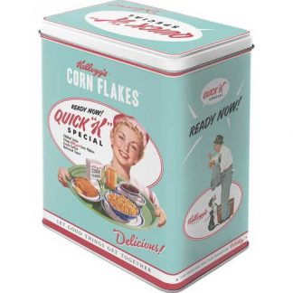 Kelloggs Quick K Menu Large Tin 3ltr