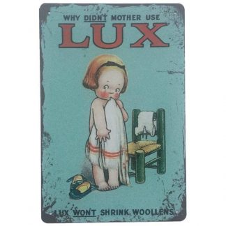 Lux Soap Sign