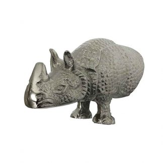 Aluminium Rhino Wall Bust