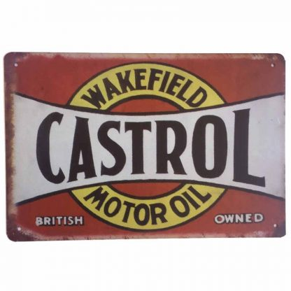Castrol Wakefield Sign