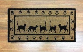 Large Cat Doormat