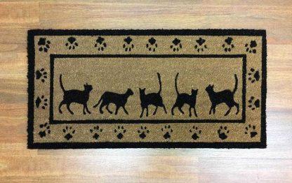 Large Cat Doormat