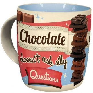 Chocolate Doesn't Ask Mug