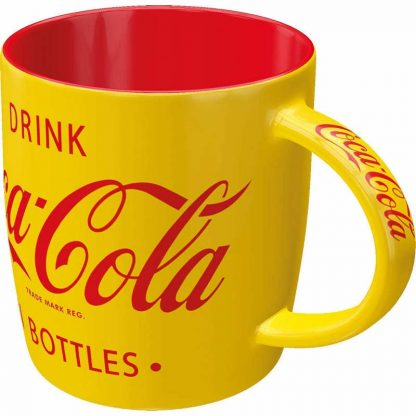 Coca-Cola Yellow Mug