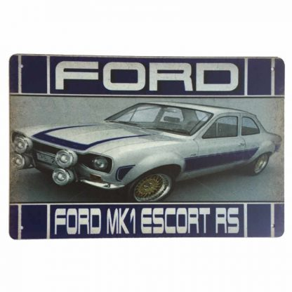 Ford MK1 Escort RS Sign