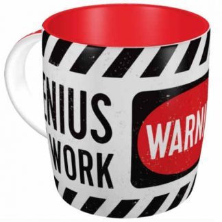 Genius at Work Mug