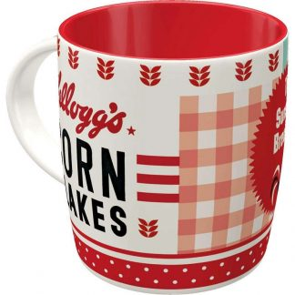Kelloggs Girl Corn Flakes Collage Mug