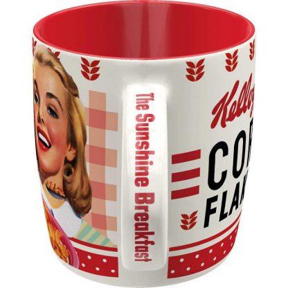 Kelloggs Girl Corn Flakes Collage Mug