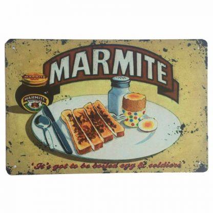 Marmite Tin Sign