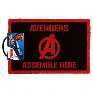 Marvel Avengers Assemble Here Doormat
