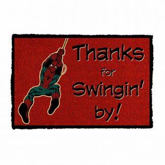 Marvel Spider-Man Swingin by Doormat