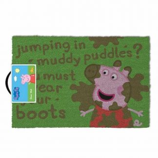 Peppa Pig Muddy Puddles Doormat