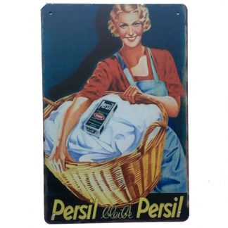 Persil Tin Sign