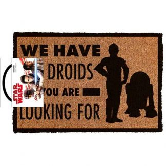 Star Wars We Have The Droids Doormat