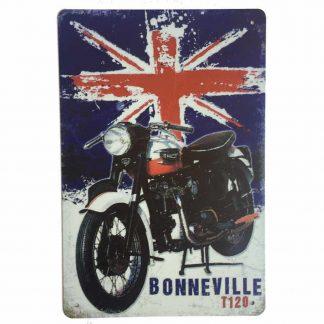 Triumph Bonneville Sign