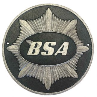 BSA Cast Iron Sign