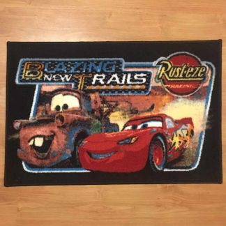 Cars Blazing Trails Rug