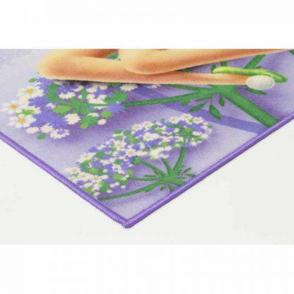 Tinkerbell Flower Rug