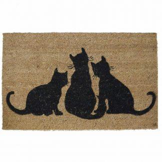 3 Cats Doormat