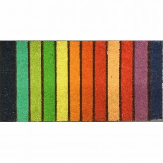 Large Rainbow Doormat