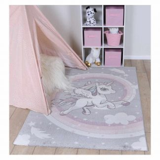 Rainbow Unicorn Rug