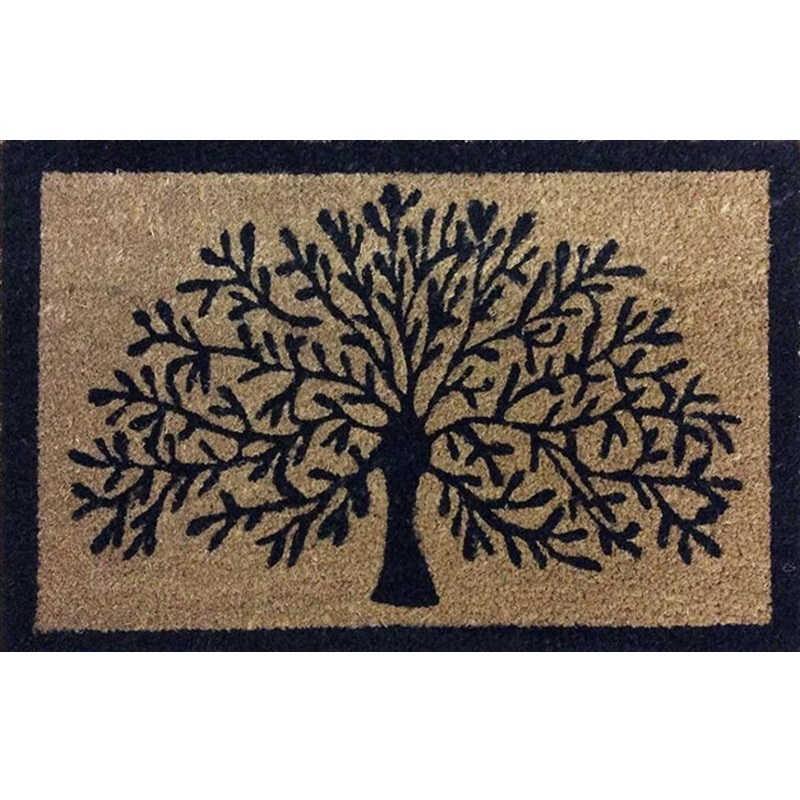 Tree Of Life Doormat 60cm Heavy Duty Coir Mat
