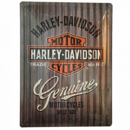 Harley Davidson Metal Sign