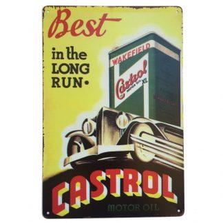 Castrol Motor Oil Sign
