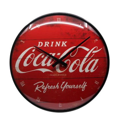 Coca Cola Red Refresh Clock