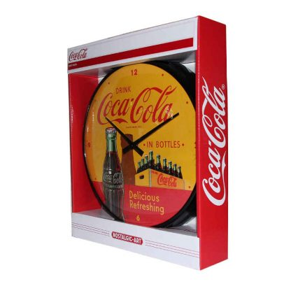Coca Cola Yellow Clock
