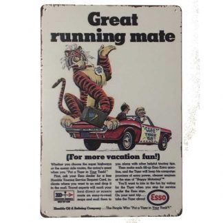 Esso Great Running Sign