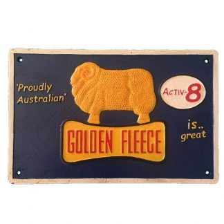 Golden Fleece Activ8 Blue Sign