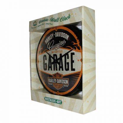 Harley Davidson Garage Clock