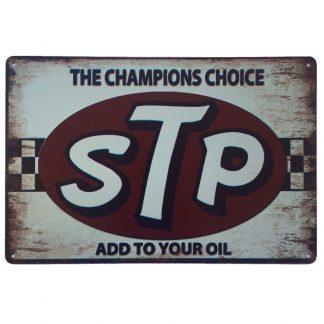 STP Tin Sign