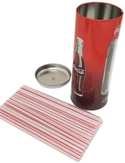 Coca Cola Straw Holder