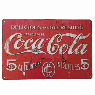 Coca-Cola Pink Sign