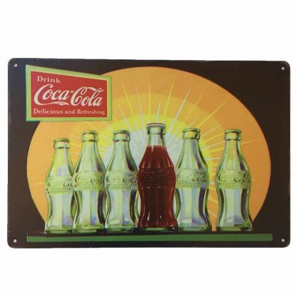 Coca-Cola Refreshing Sign