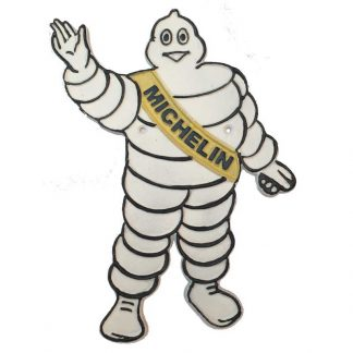 Michelin Man Waving Sign