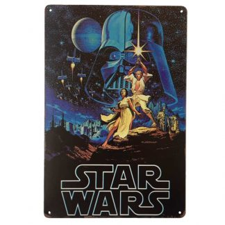 Star Wars Tin Sign