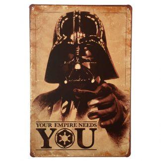 Star Wars Vader Sign