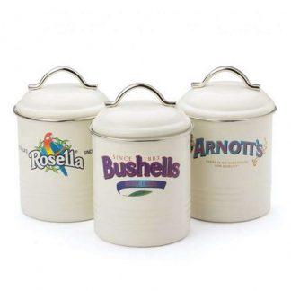 Arnotts Rosella Bushells Canister Set