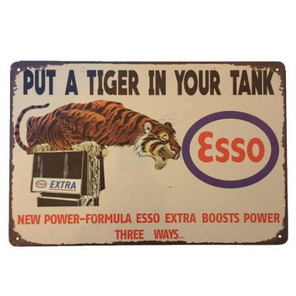 Esso Tiger Sign