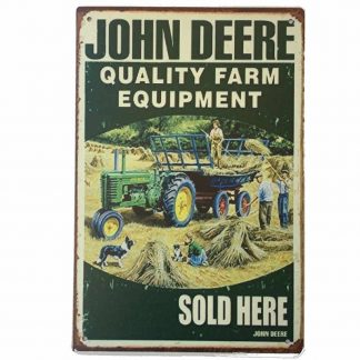 John Deere Farm Sign