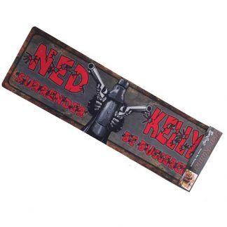 Ned Kelly Rubber Bar Runner
